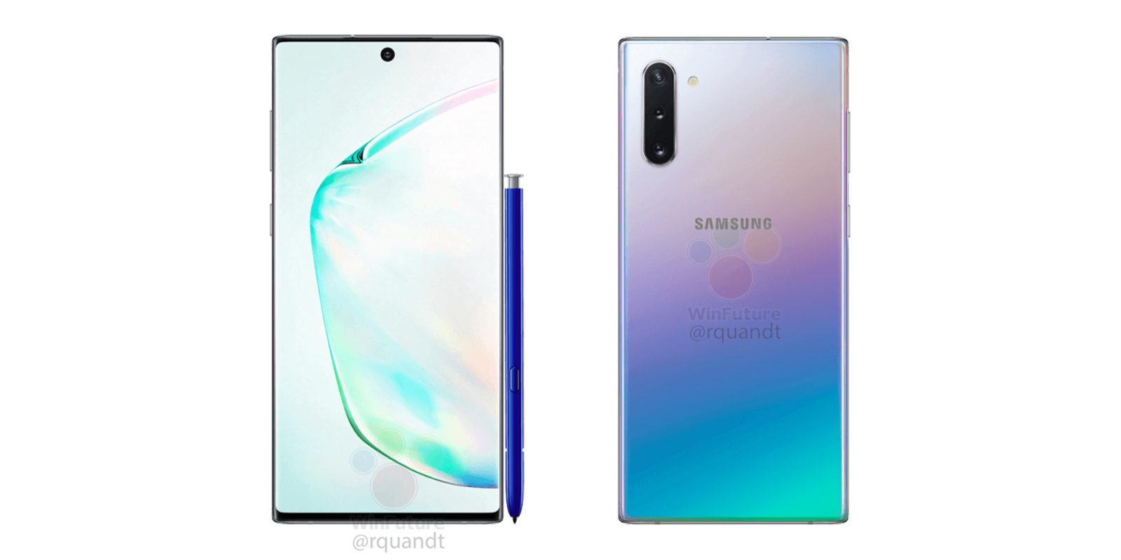 Leaked Galaxy Note 10 pricing suggests €999 start in Europe
