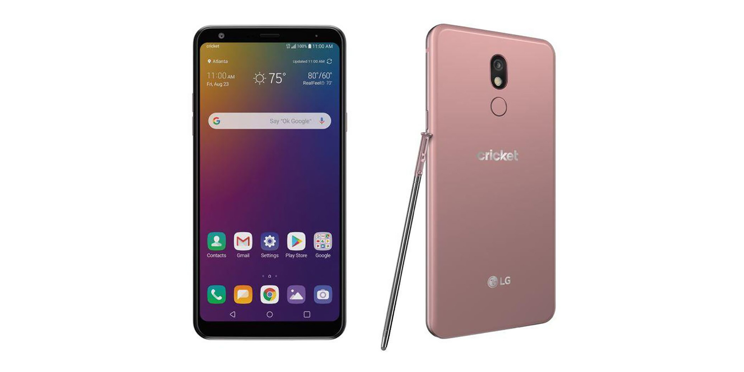 The LG Stylo 5 announced as Cricket Wireless exclusive