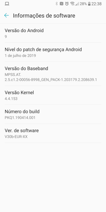 Early Android Pie beta build leaks for the LG V30 - 9to5Google