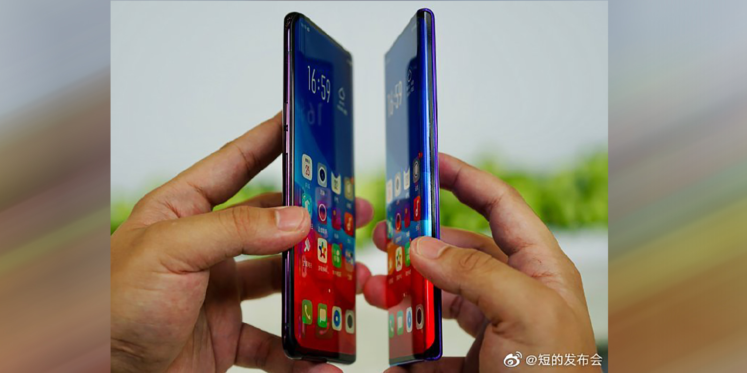 Oppo flaunts new ridiculously curved 'waterfall' display [Gallery]