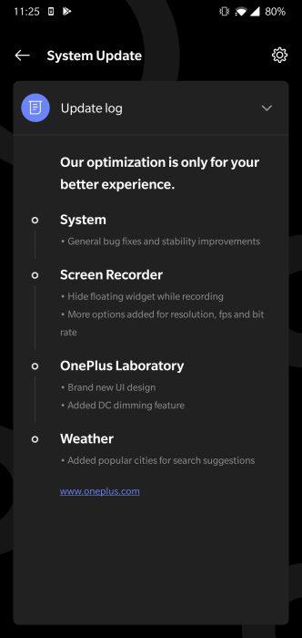 Oxygen OS Open beta 23 15 OnePlus 6 6T