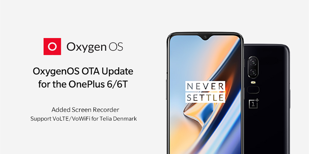 OnePlus 6/6T get Screen recorder in latest OxygenOS OTA