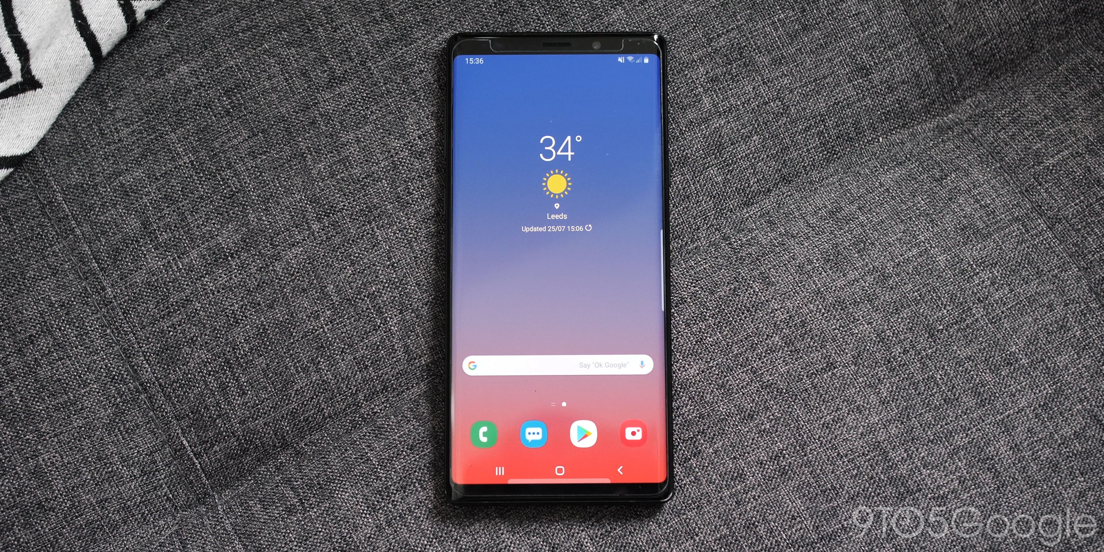 Samsung Galaxy Note 9 re-visited