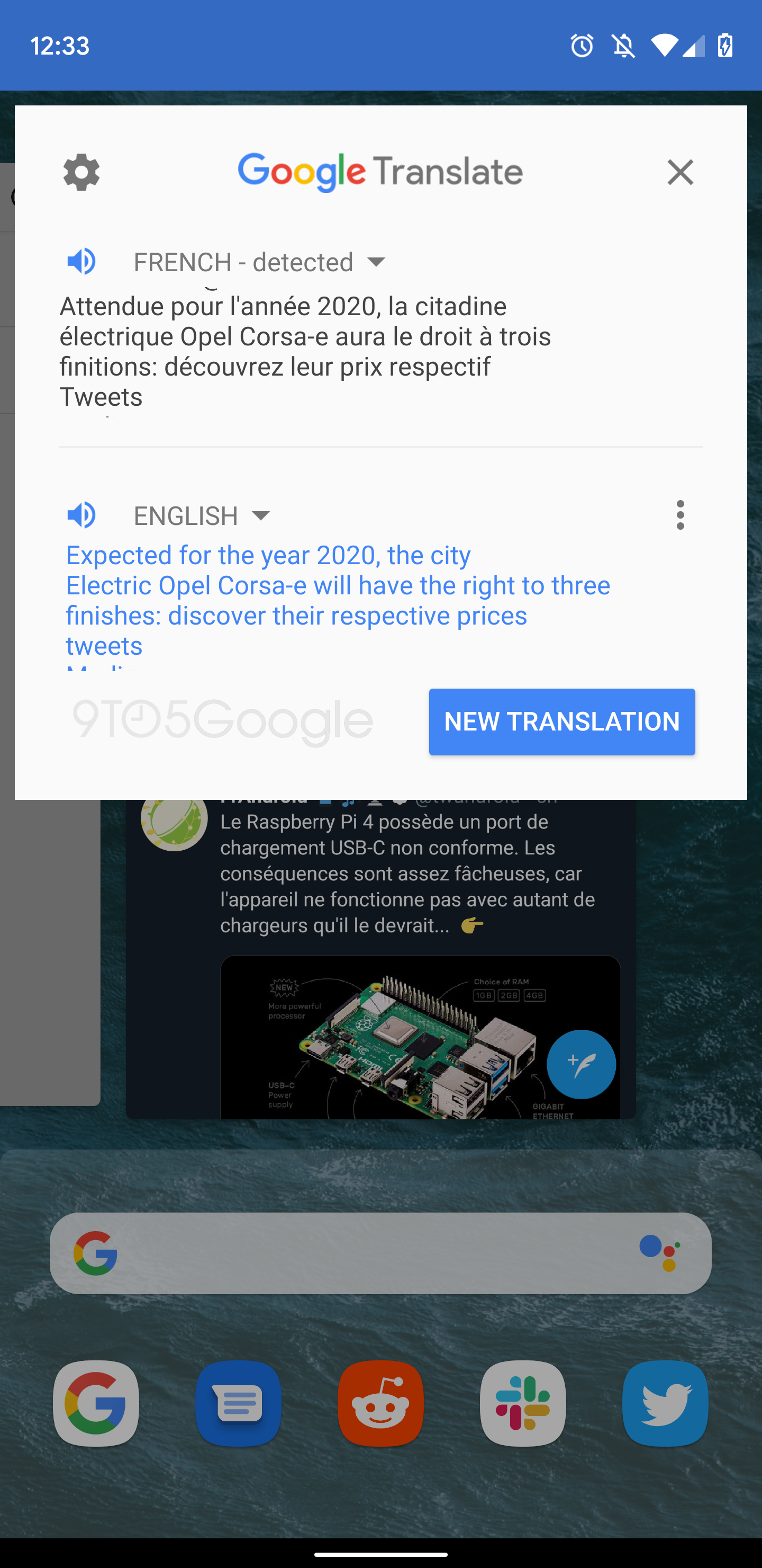 Android Q bringing Google Translate to recent apps on Pixel - 9to5Google