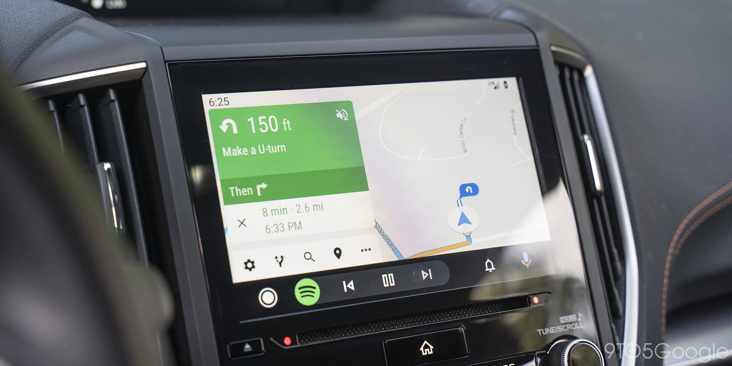 Google Maps rolls out new Android Auto shortcut buttons