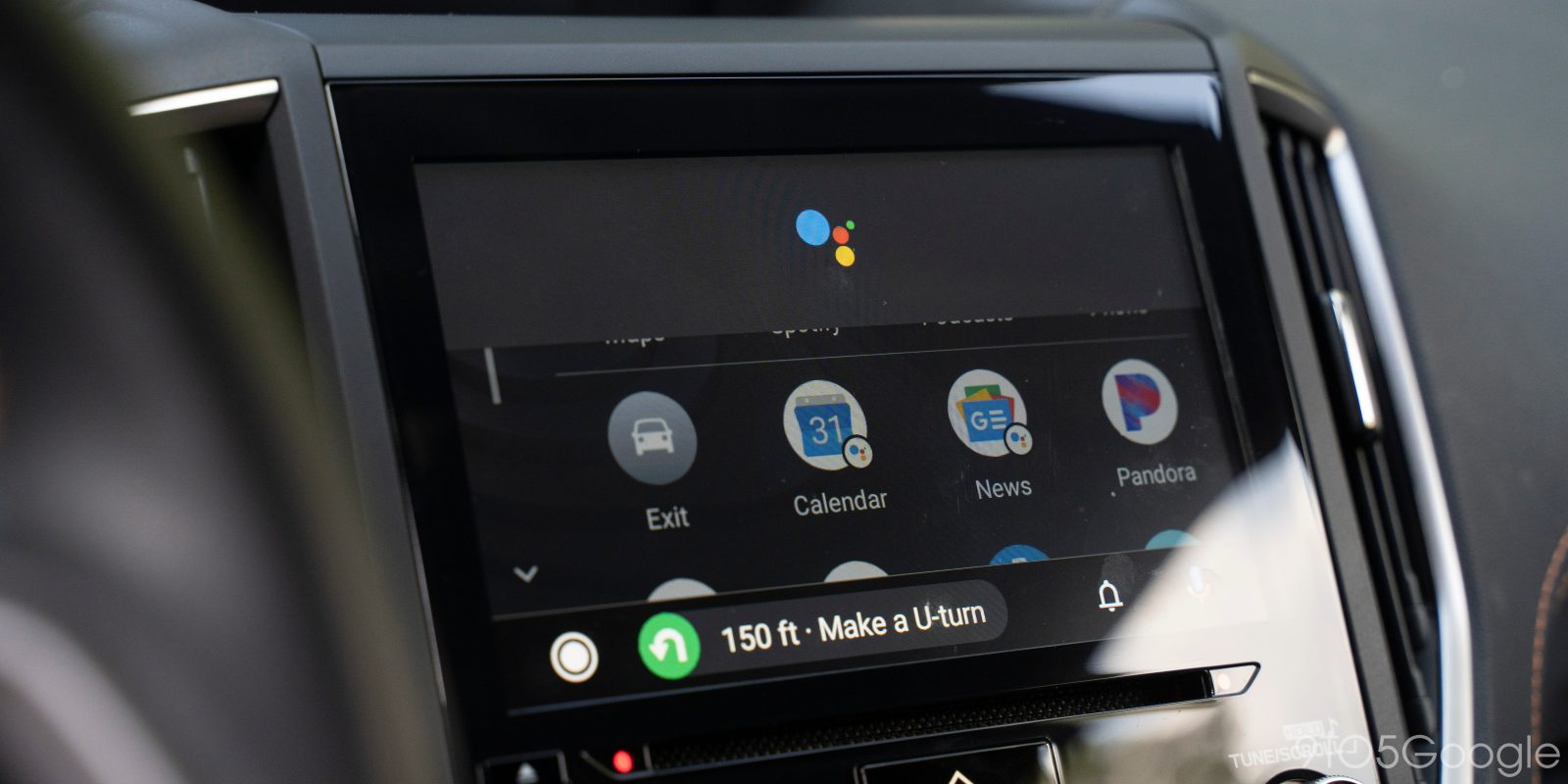 Android Auto is testing new designs for Google Assistant, rolls out weather icon