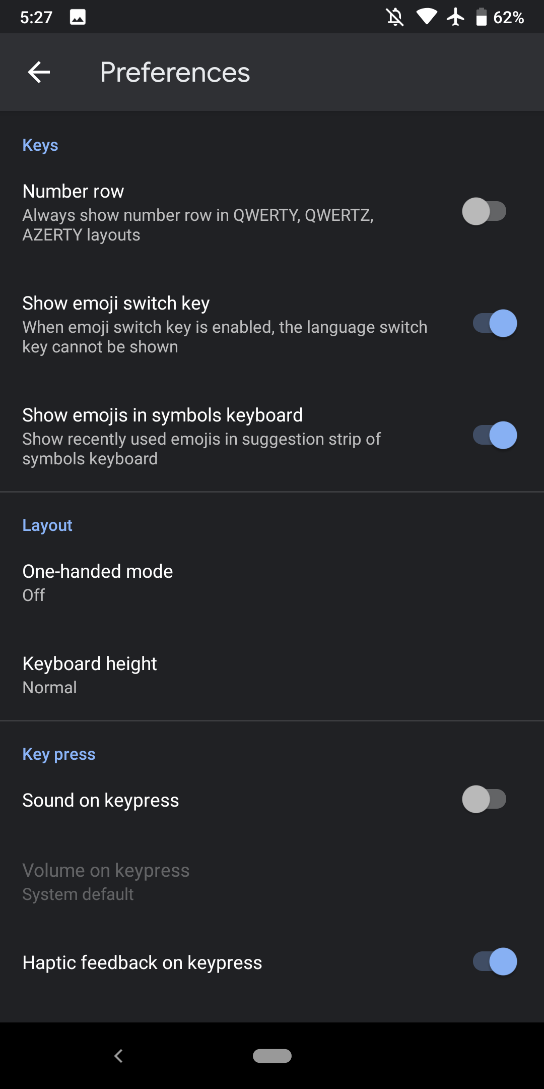 Gboard 8 5 preps Assistant integration, adds dark theme for settings