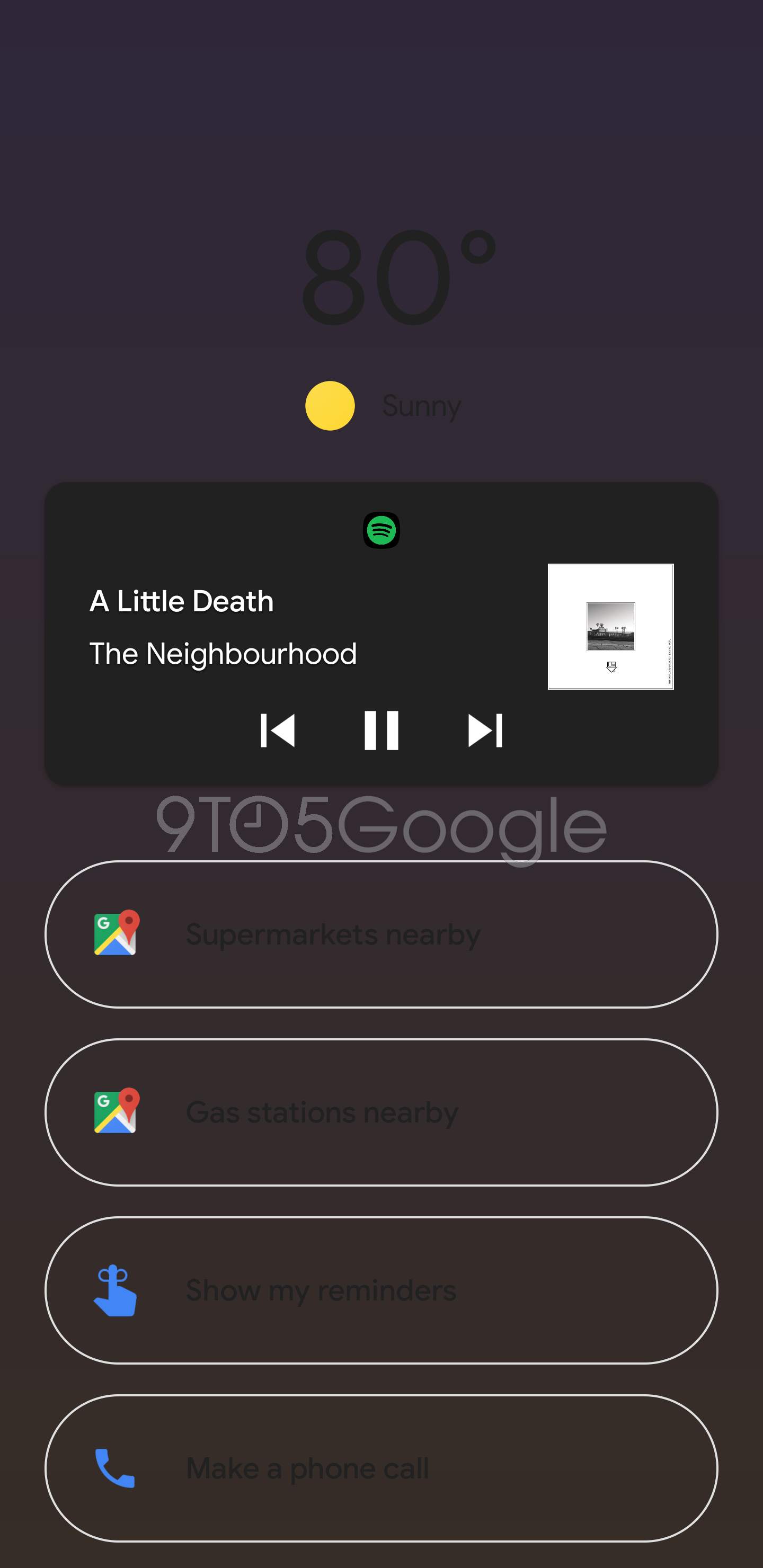 Here's an early look at Google Assistant Ambient Mode - 9to5Google