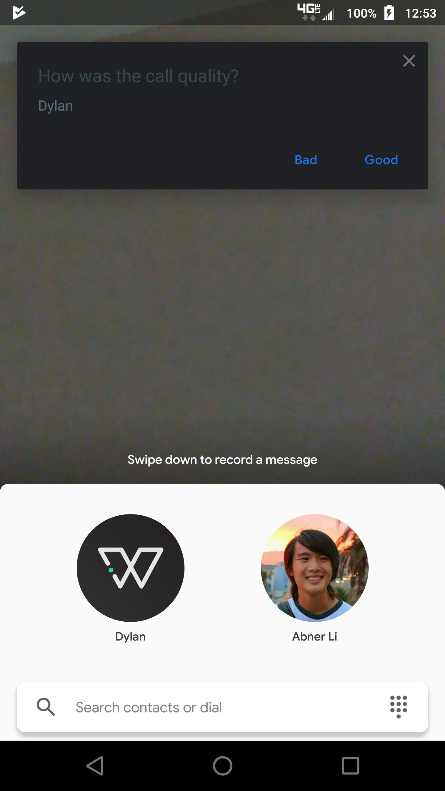 Google Duo 57 adds partial dark theme, direct photo gallery