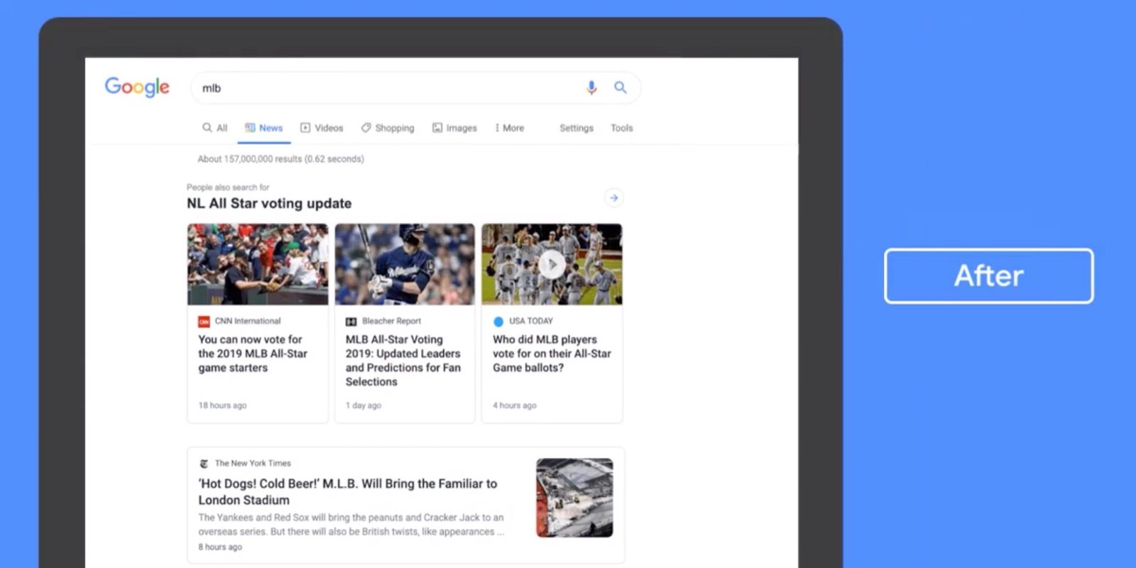 [Update: Rolling out] Google introduces redesigned News tab for desktop Search