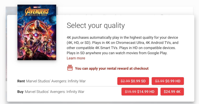 Google Play Disney 4K