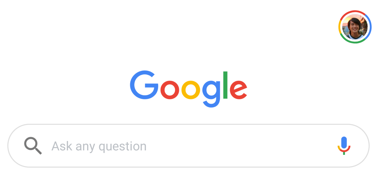 Google App A/B Testing Tweaked Search Bars On Android