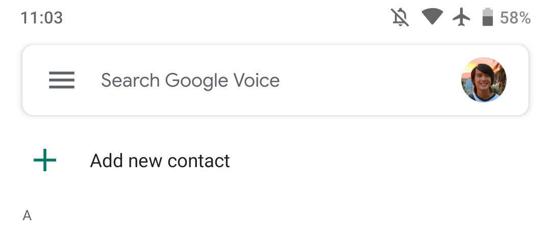 Google Voice 2019 28 adds Material Theme account switcher - 9to5Google