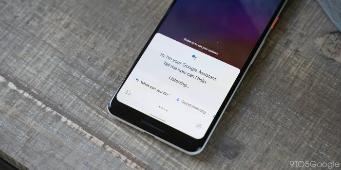 google assistant android q