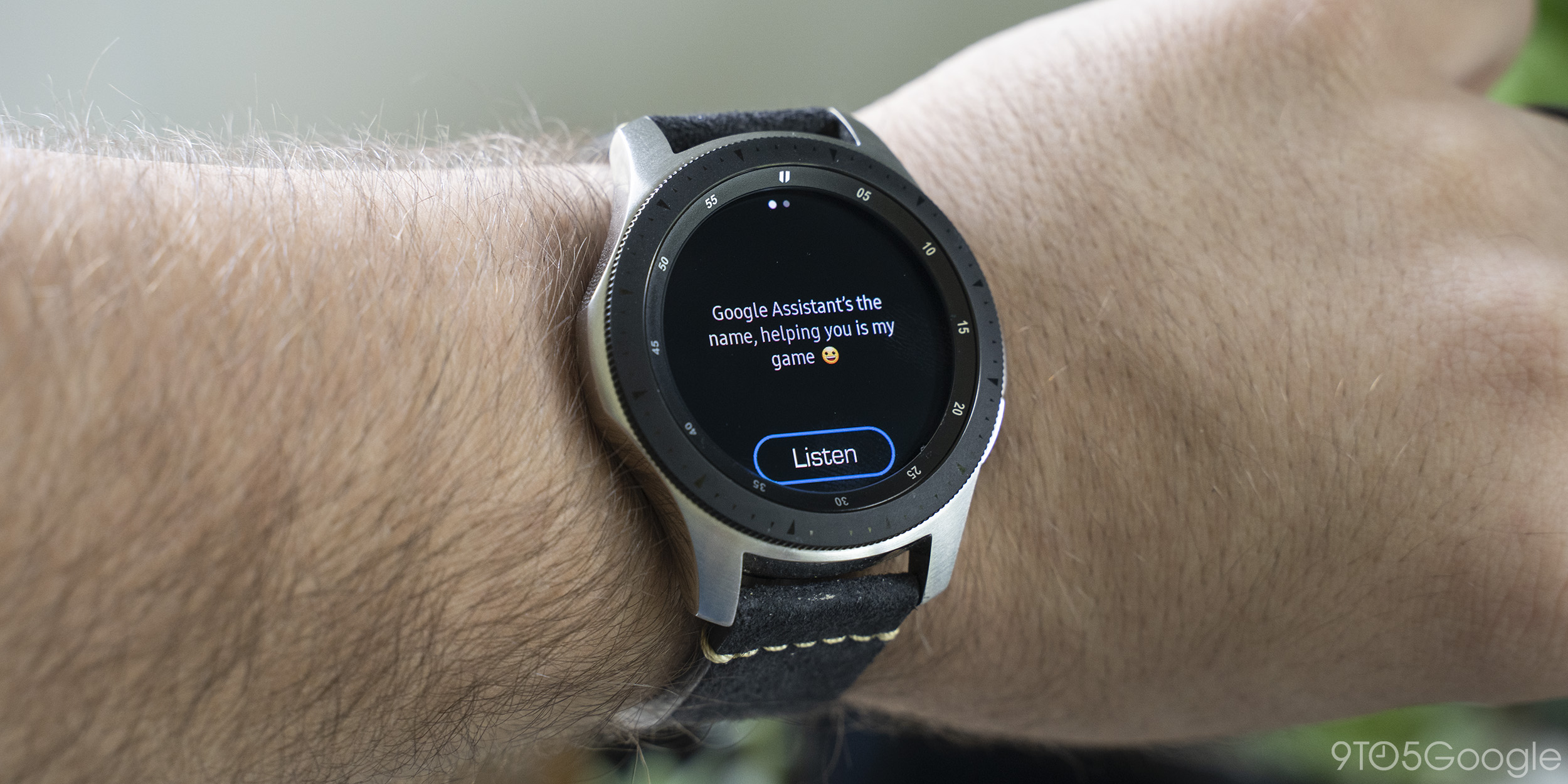 How to use Google Assistant on Samsung Galaxy Watch - 9to5Google
