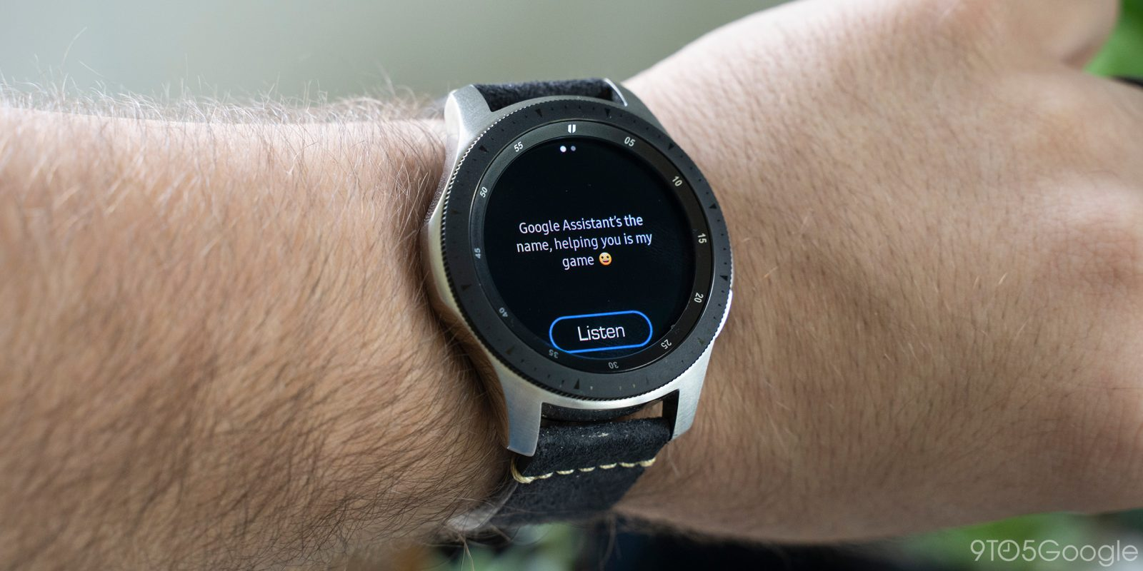 How To Use Google Assistant On Samsung Galaxy Watch 9to5google