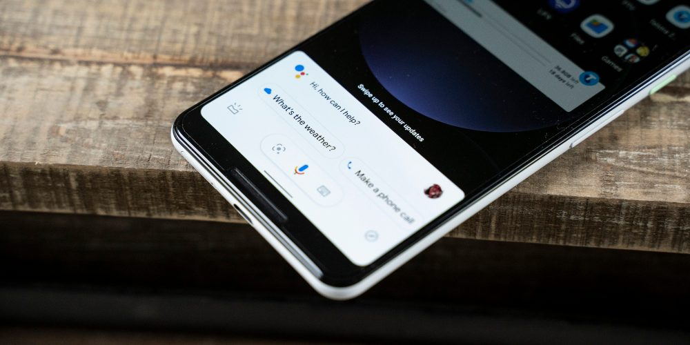 google assistant compact interface