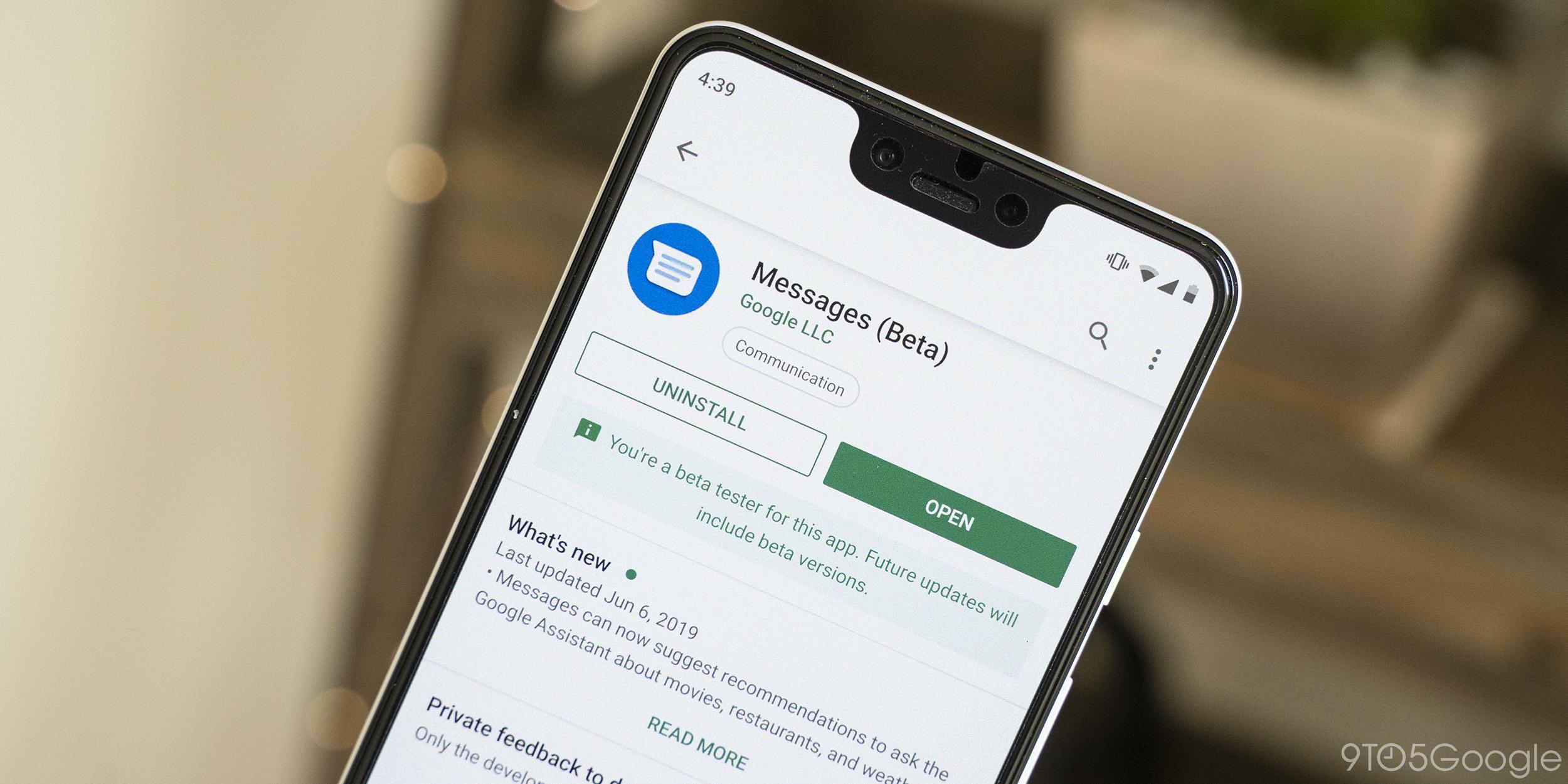 [Update: Fixed] PSA: Google Messages Beta v4.7 crashes immediately on startup