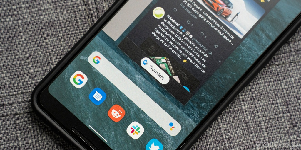 Android Q bringing Google Translate to Recents view in Pixel Launcher [Video]