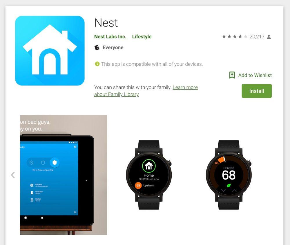 Nest kills watch apps