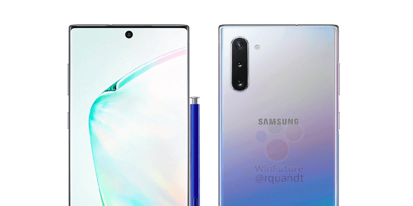 Samsung Galaxy Note 10+ images leak via FCC showing off official design