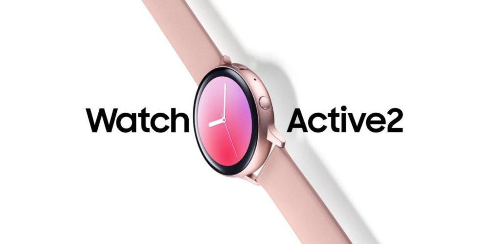 Samsung Watch Active2 leak