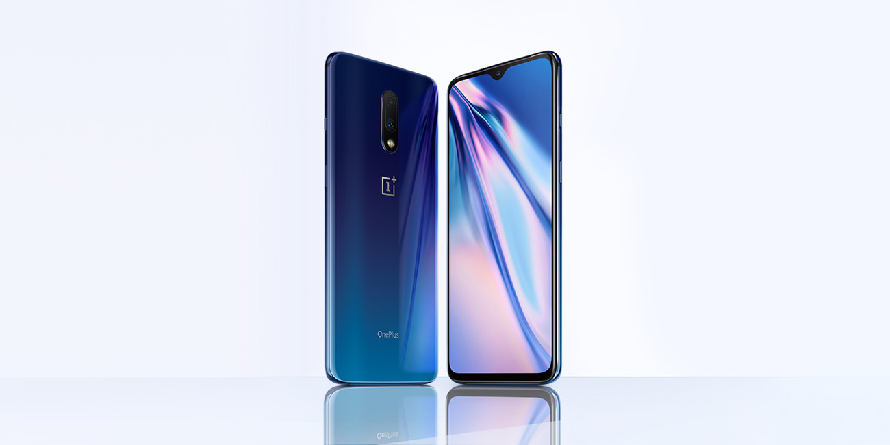 Image result for OnePlus 7 Mirror Blue