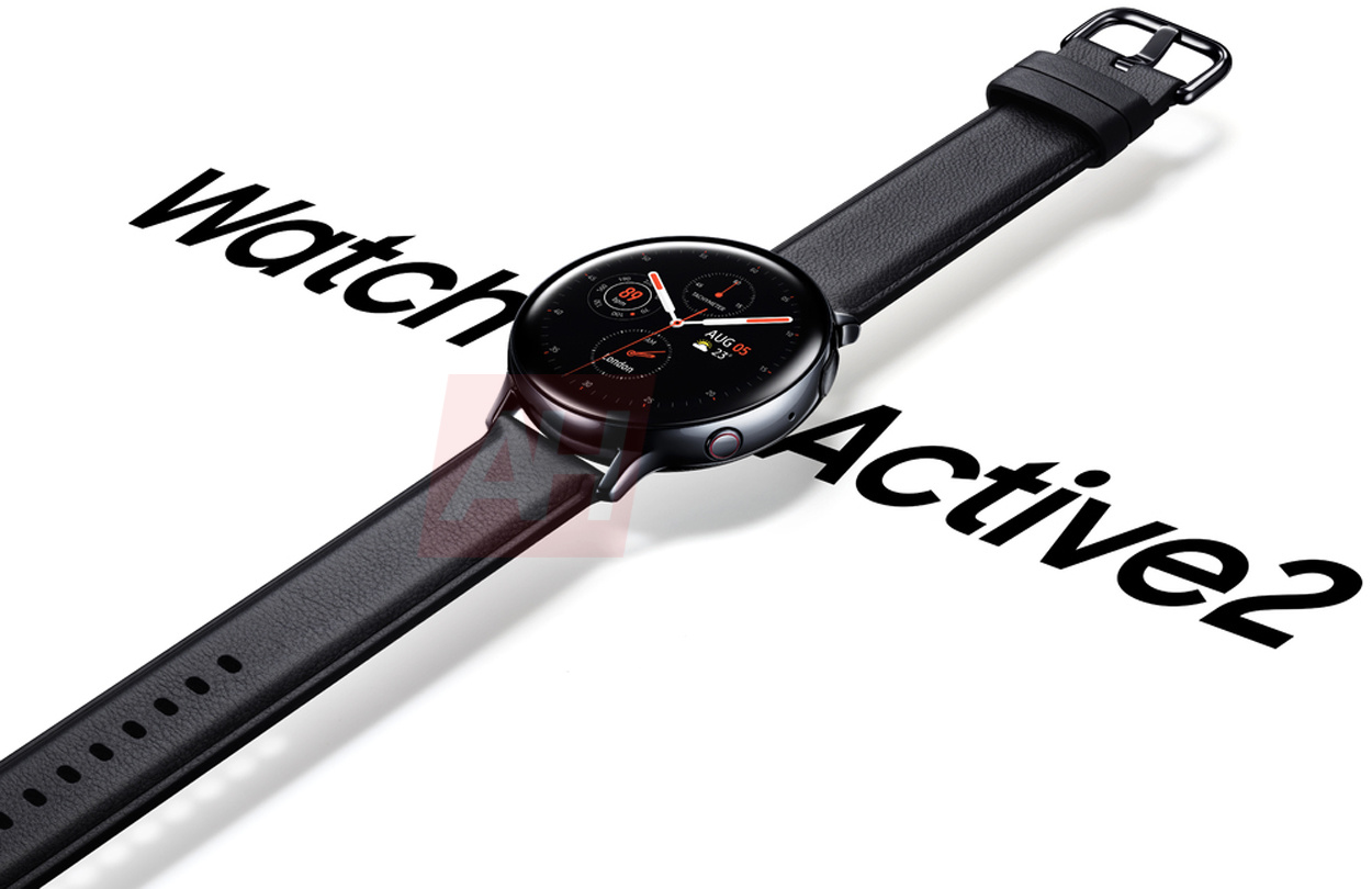 samsung galaxy watch active2 leak rendering