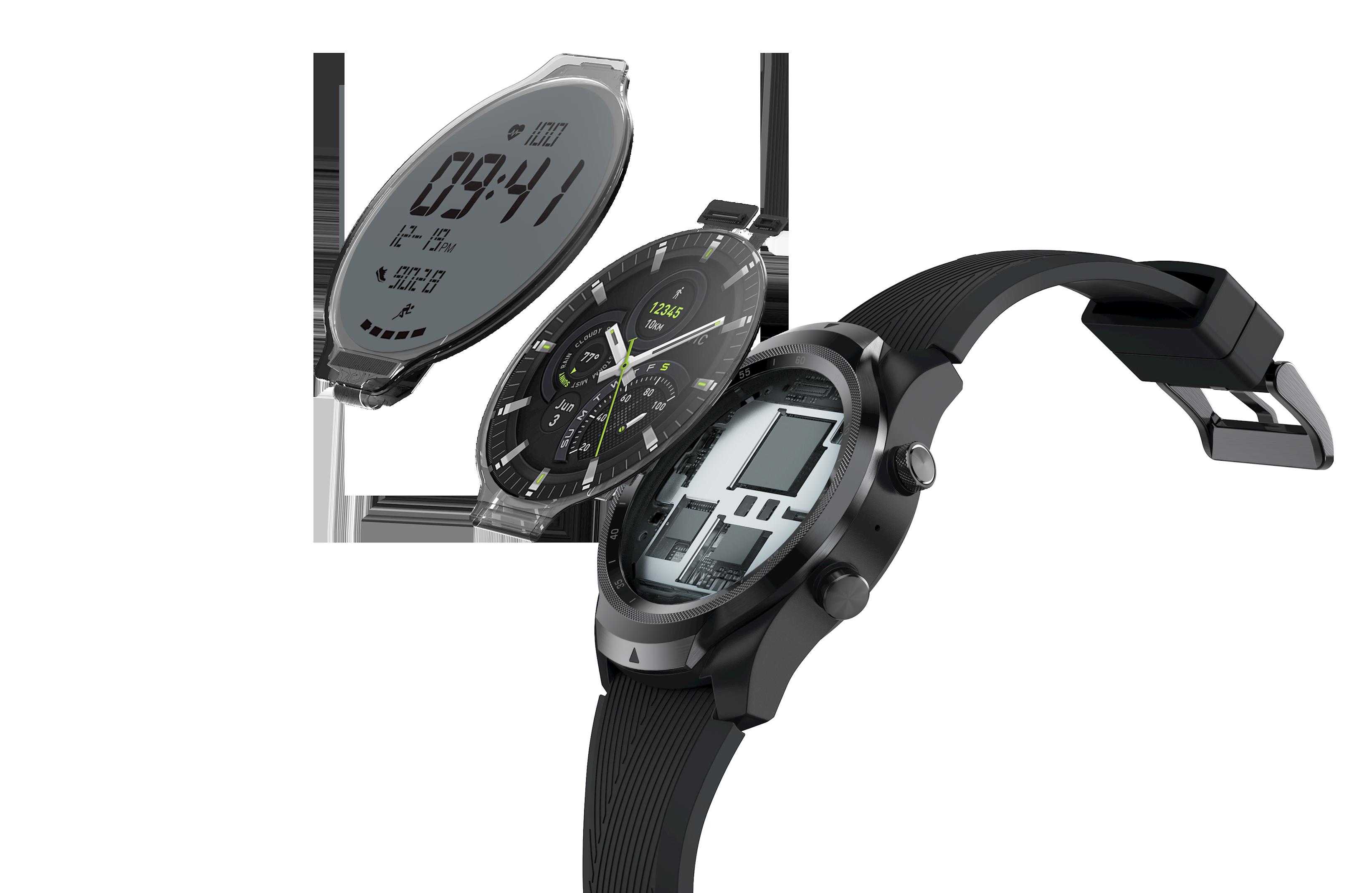 mobvoi ticwatch pro 4g dual display