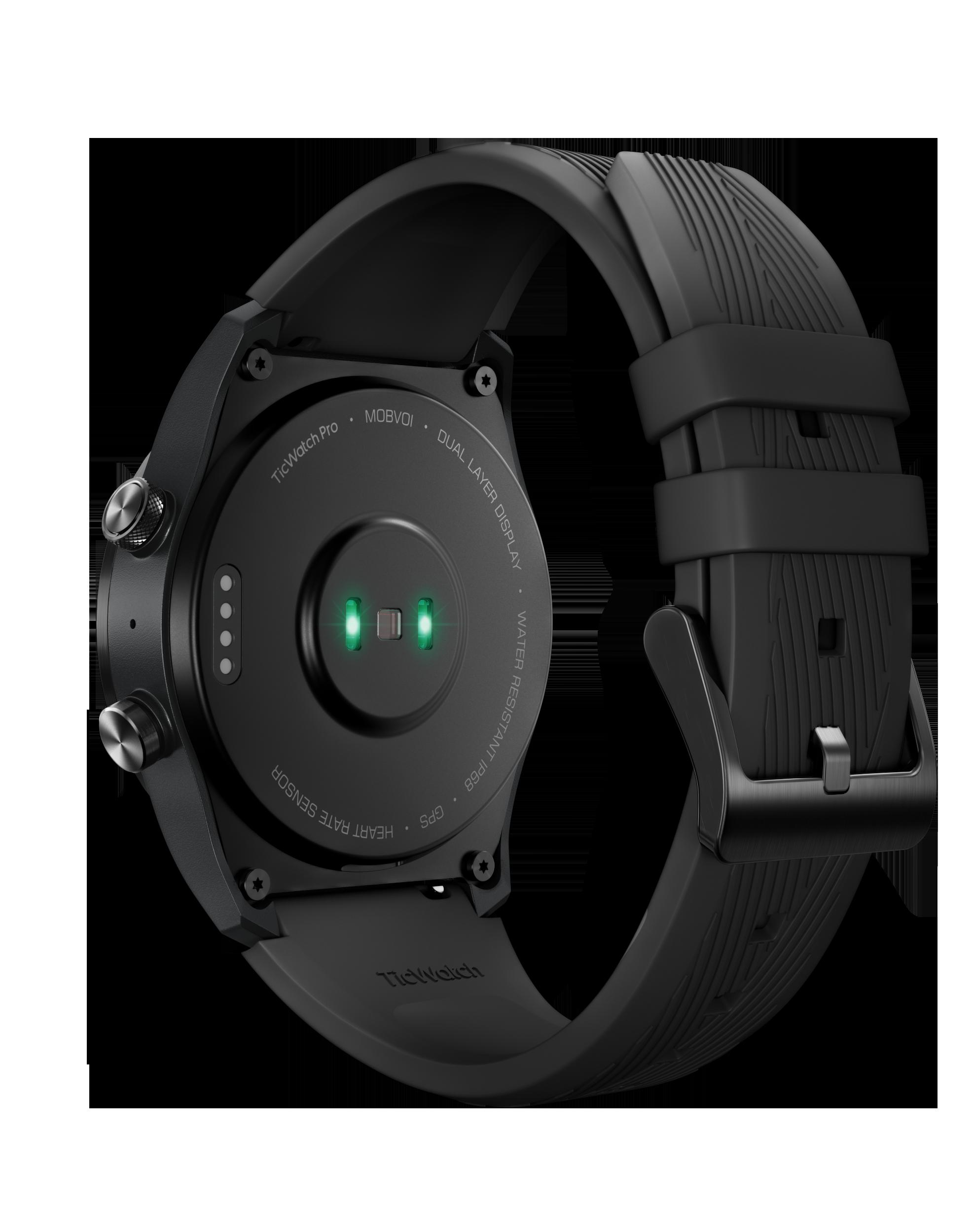mobvoi ticwatch pro 4g heart rate sensor