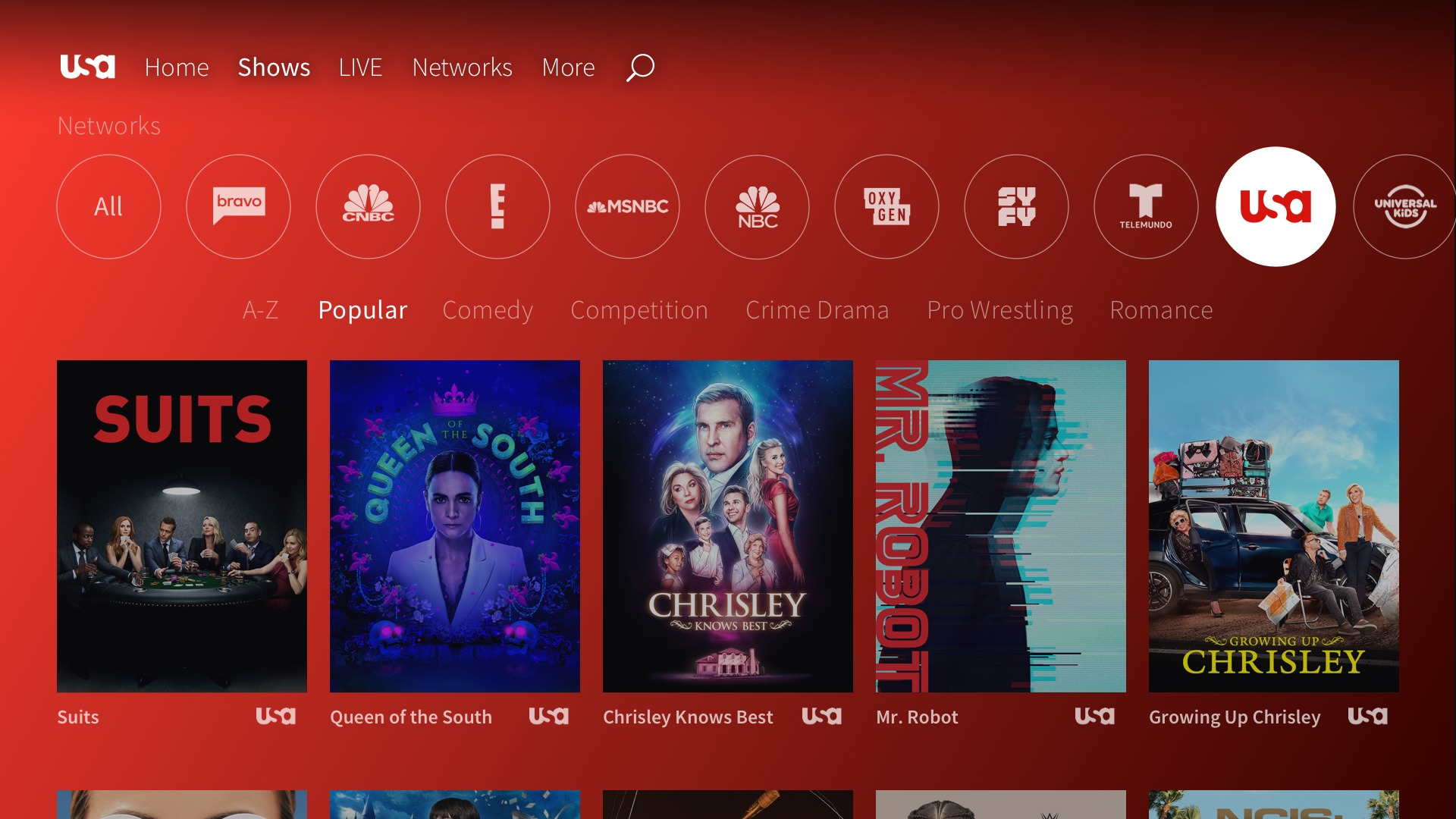 Android TV gets NBCUniversal apps w/ USA Network, more - 9to5Google