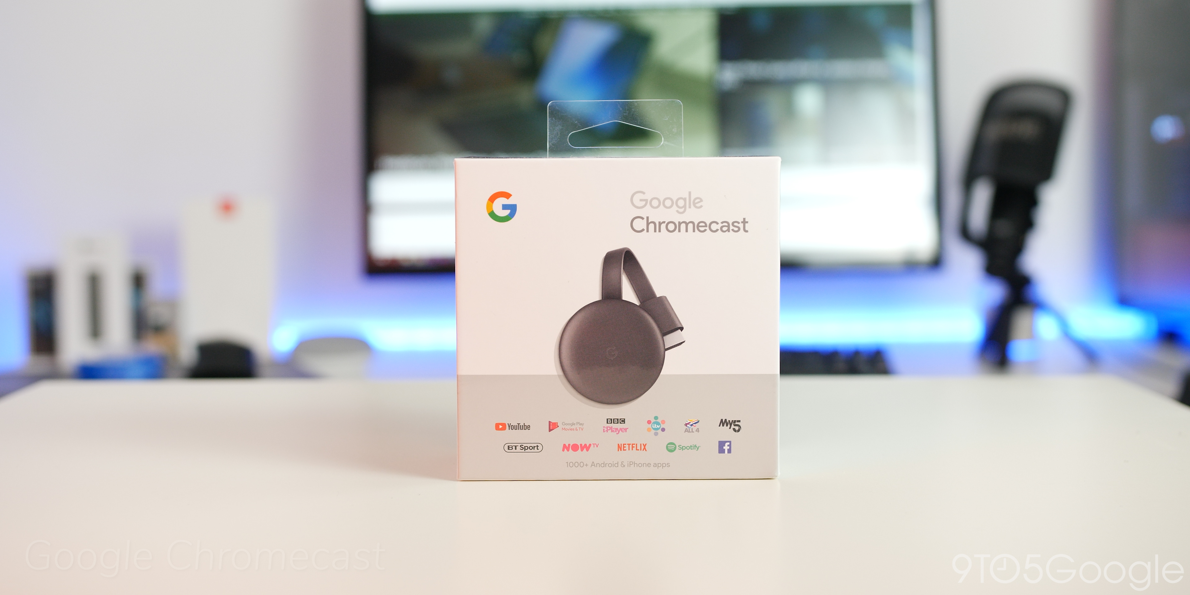 chromecast - google smart home gifts