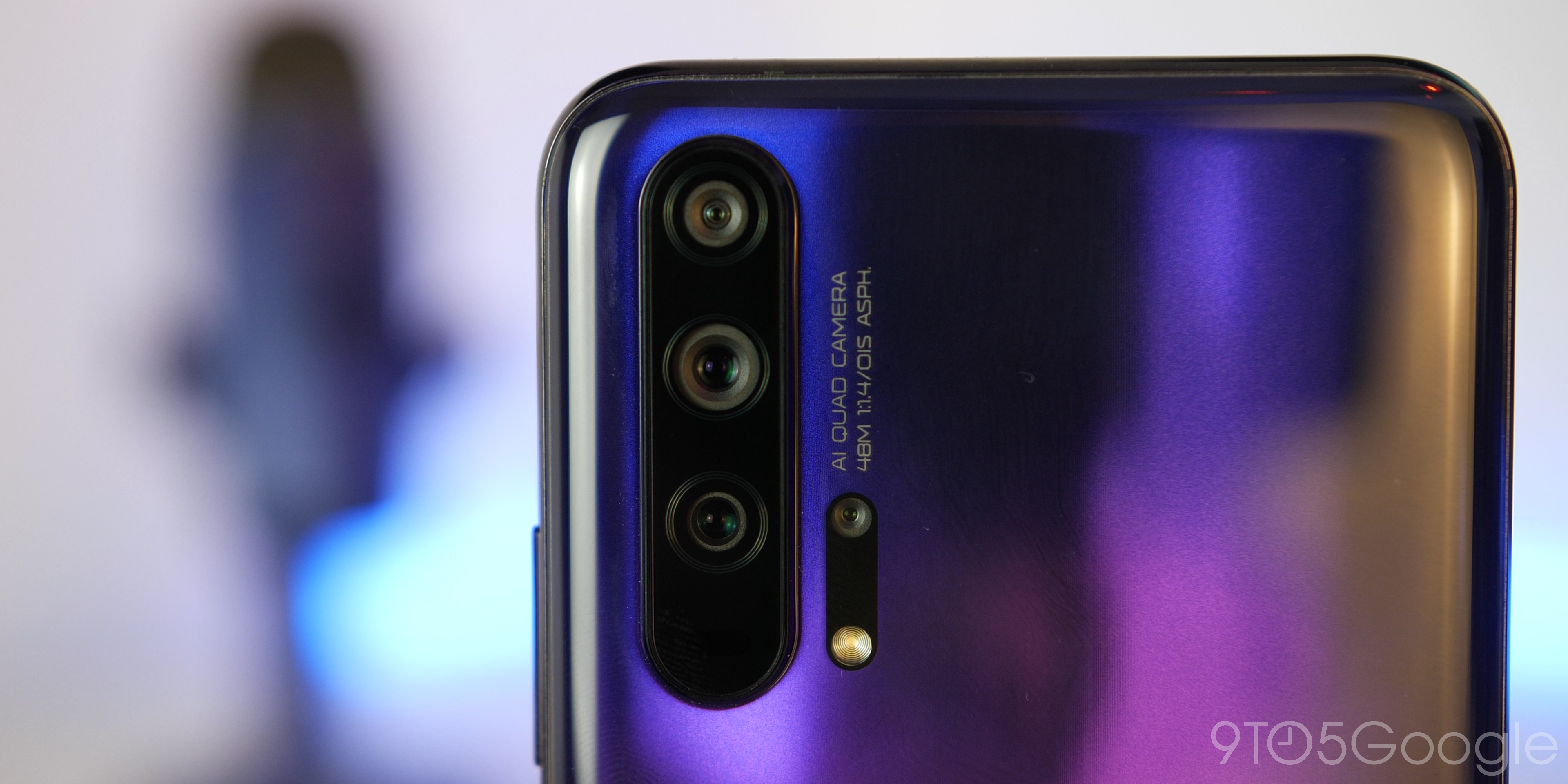 Honor 20 Pro camera array
