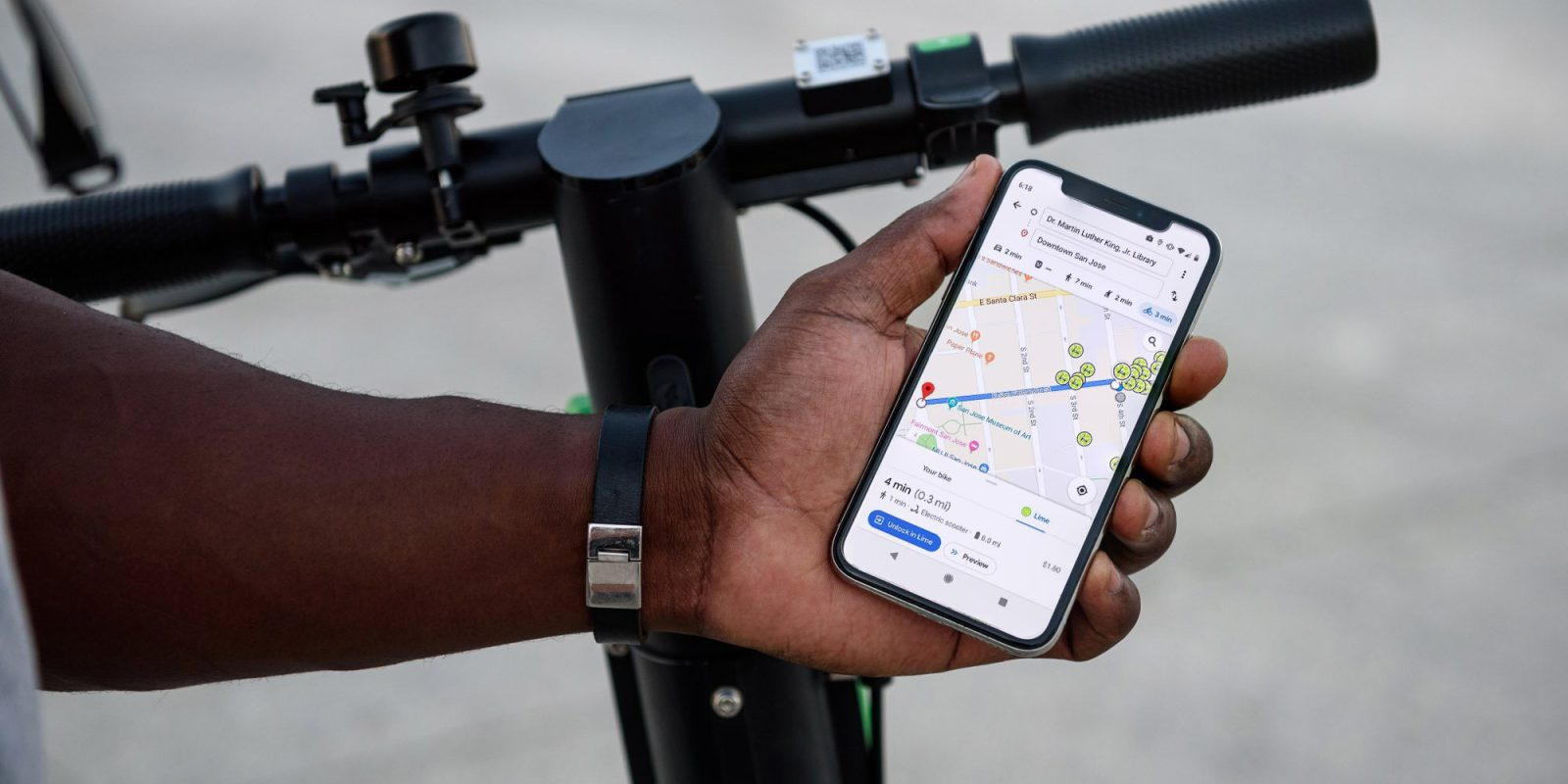 Google Maps adds tighter Lime scooter integration to improve your commutes