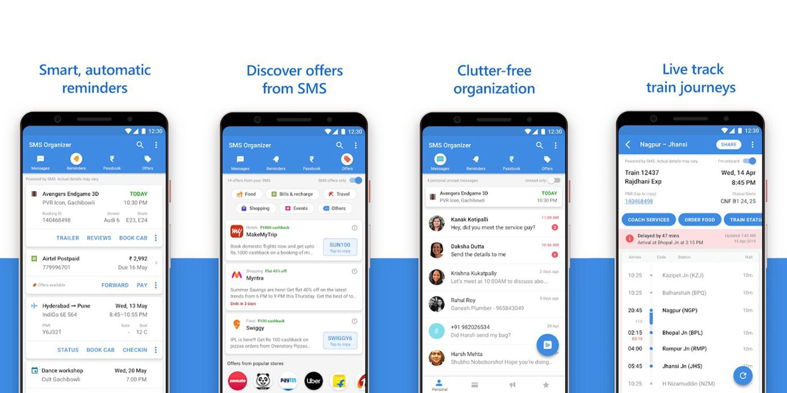 Microsoft SMS Organizer app now available in US, UK, Australia