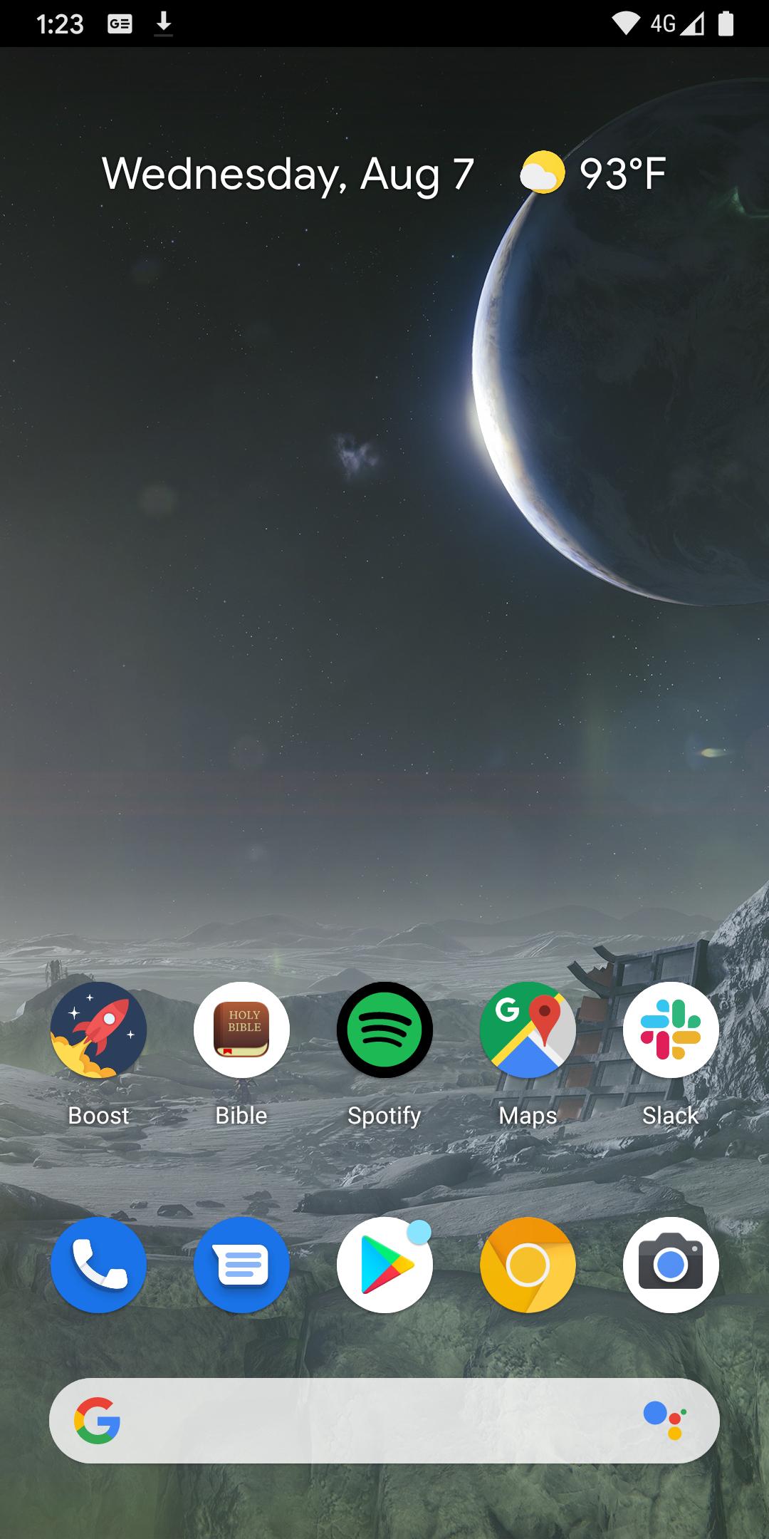 Android Q Beta 6: Gesture nav bar hidden on home screen