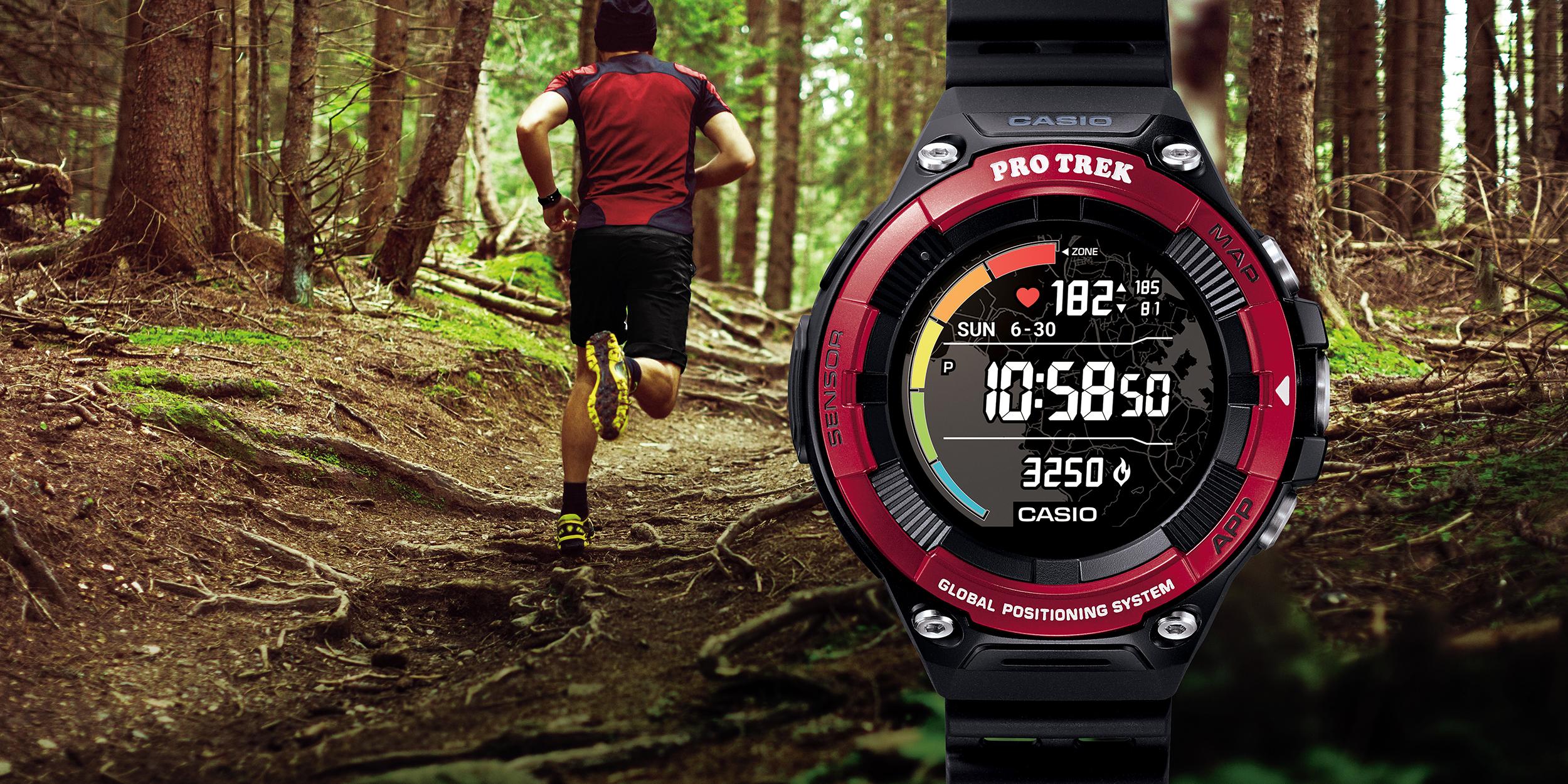 casio wsd-f21hr smartwatch wear os