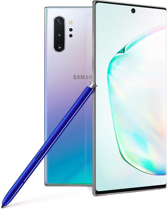 Image result for Samsung galaxy note 10 plus png