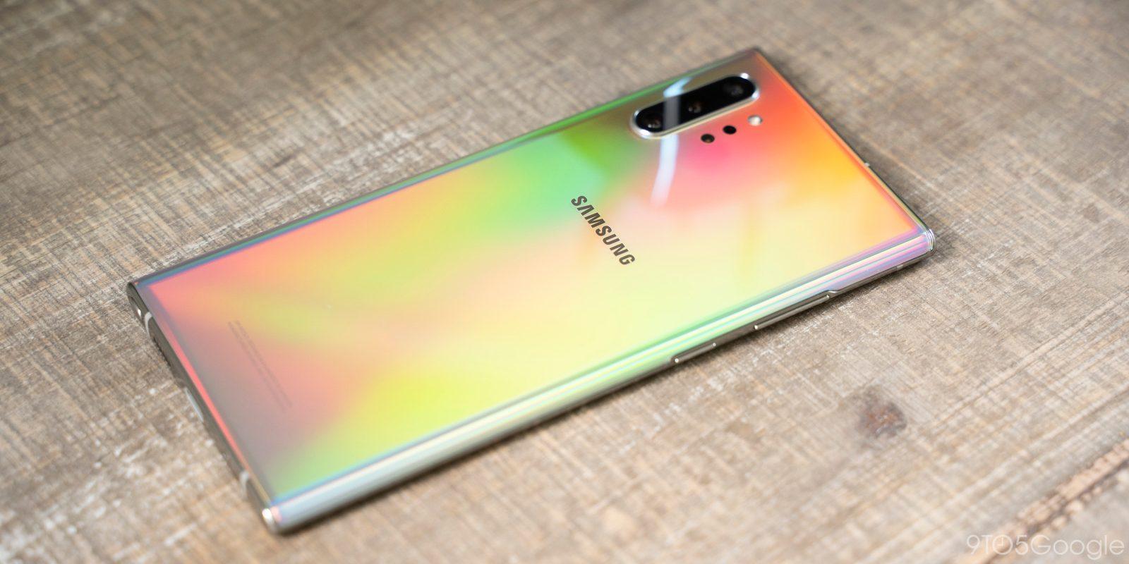 Galaxy Note 10+ teardown reveals better haptics in place of the headphone jack