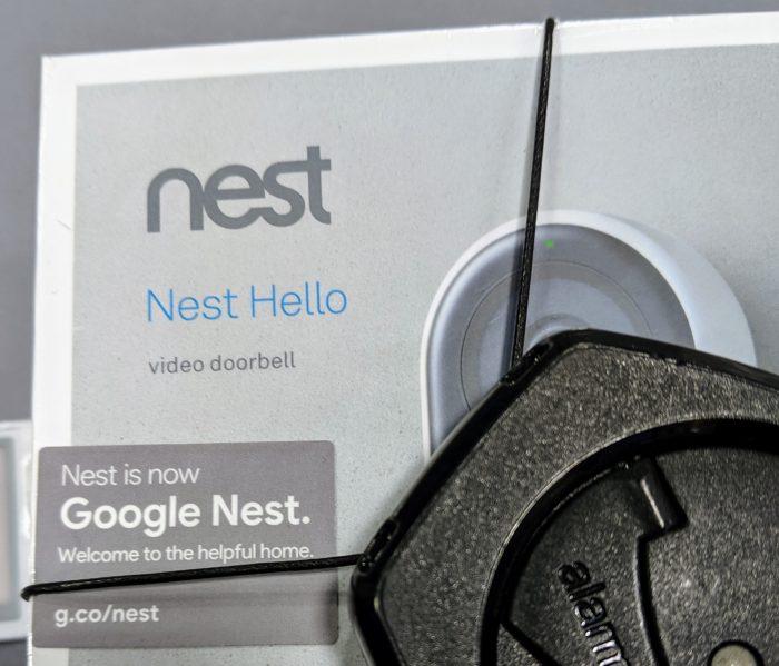 Google Nest Hello rebrand