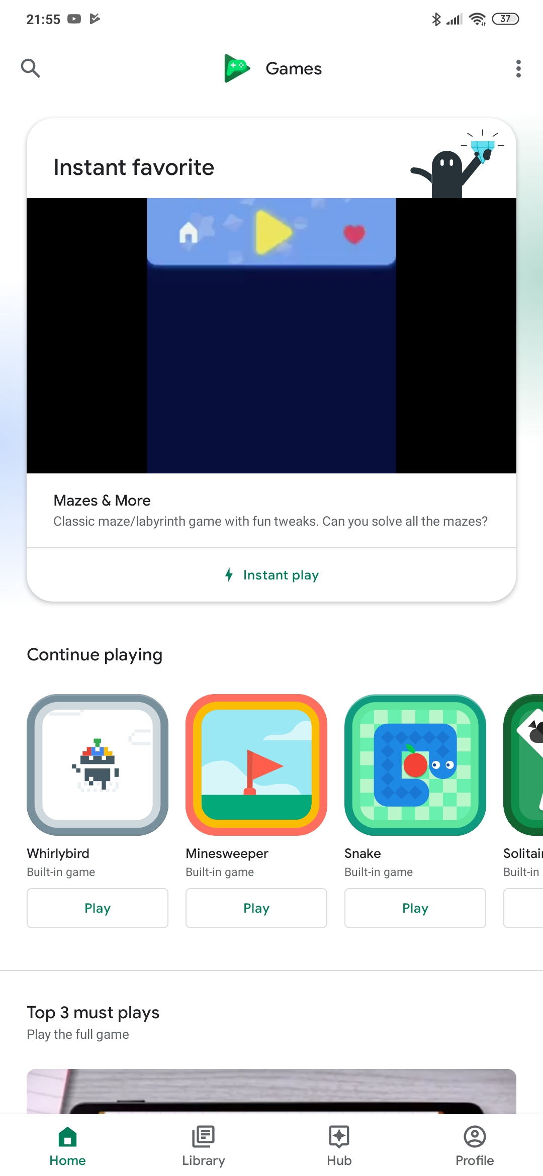 Google readies Play Games revamp w/ new 'Home' feed - 9to5Google