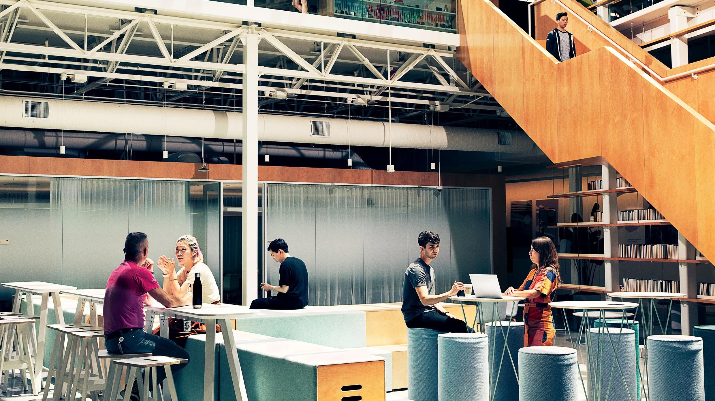 google design lab entrance