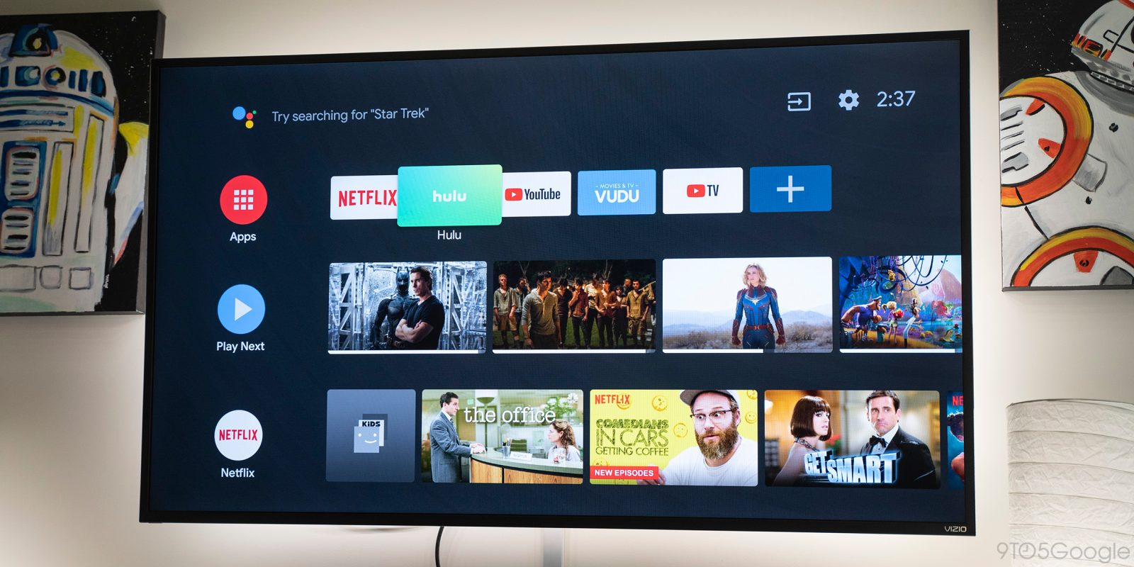 Google adds Data Saver to Android TV starting in India