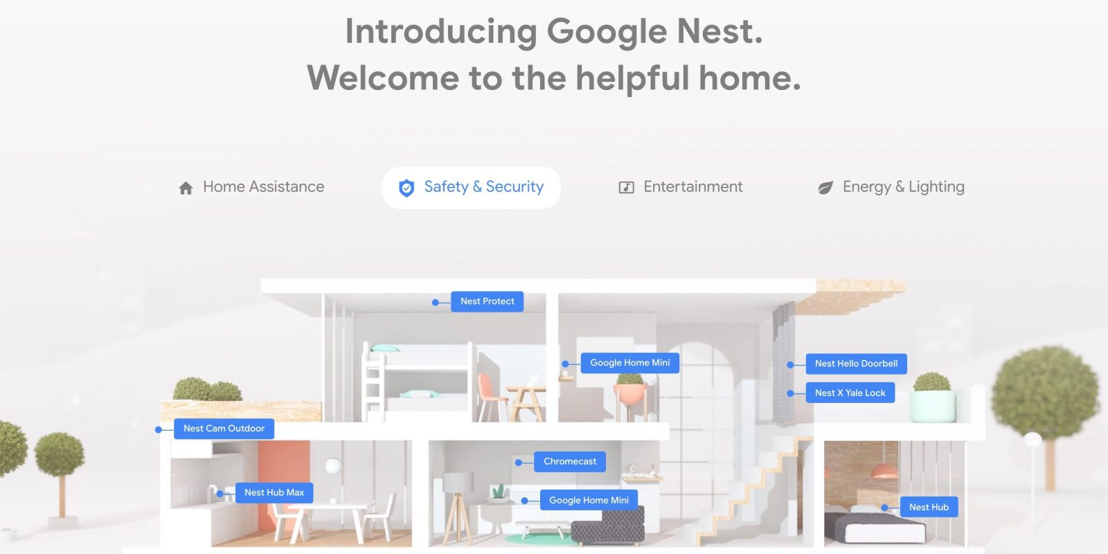 Google resets Nest Cam auto recording integration with Nest Protect, Secure