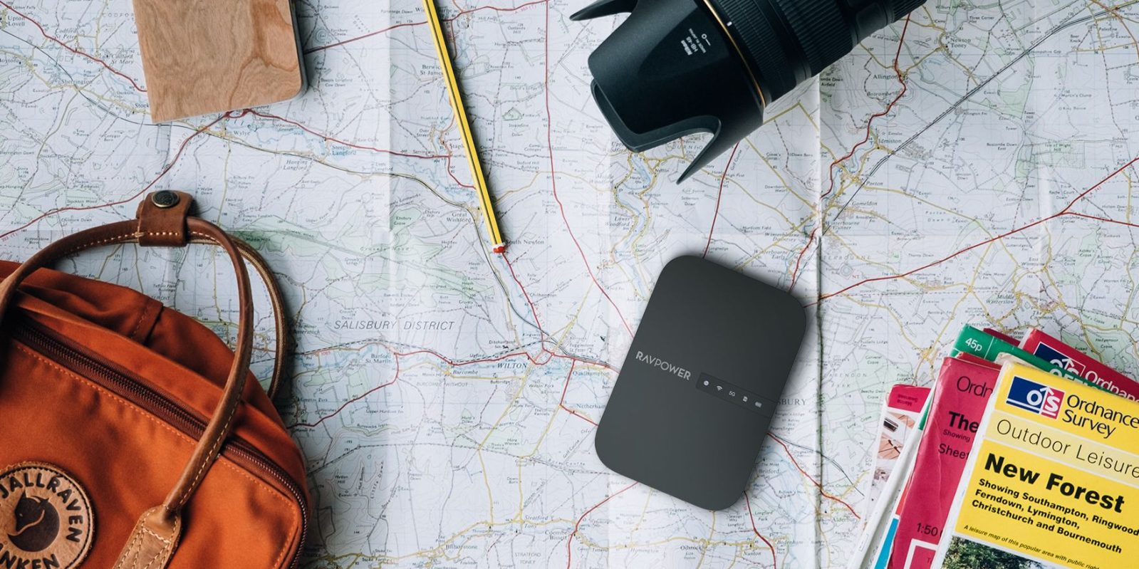 RAVPower FileHub is the best wireless SD card reader and portable router for $40