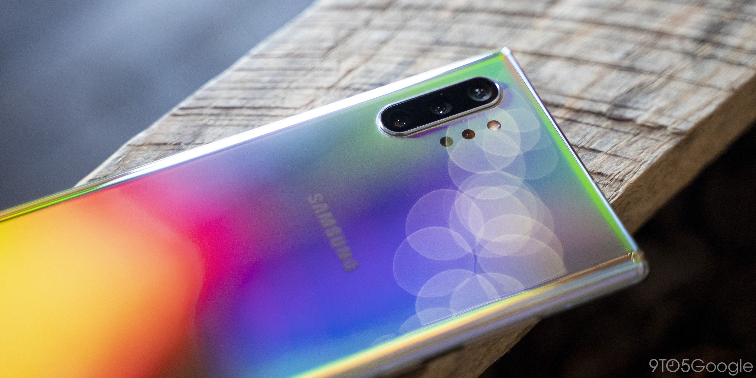 galaxy note 10+ aura glow