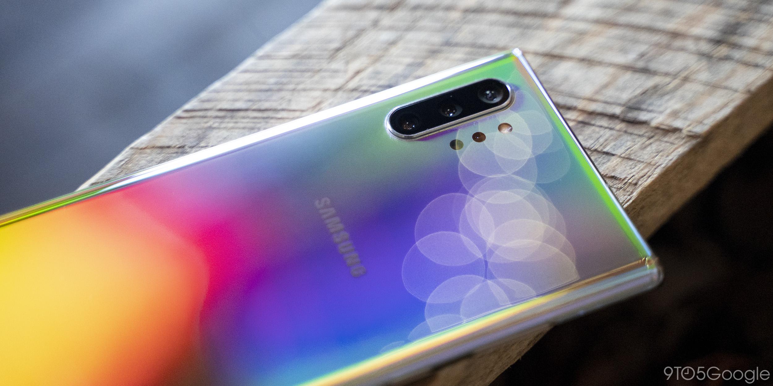 Galaxy Note 10+ Aura Glow
