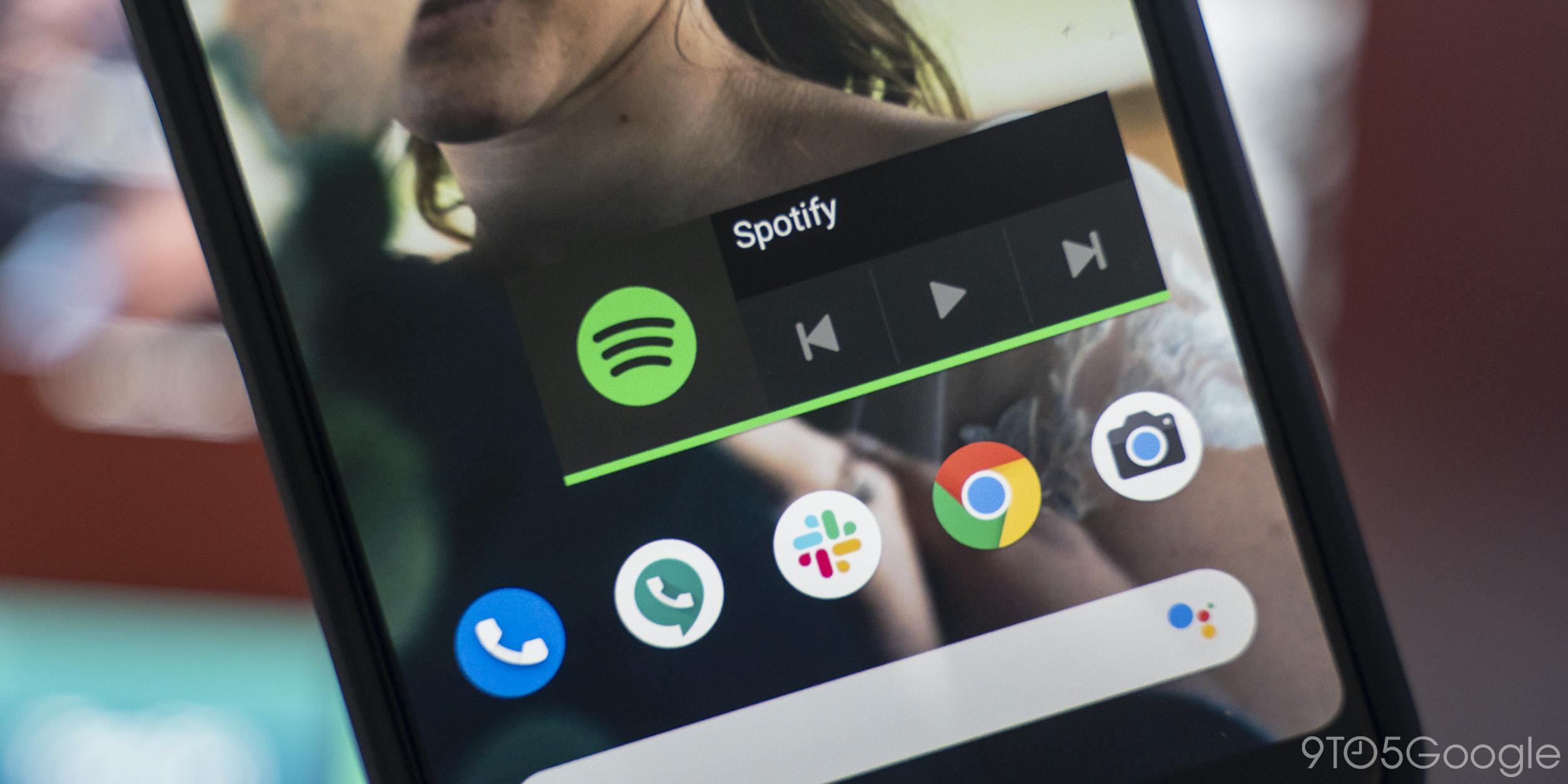 Spotify für Android entfernt sein Homescreen-Widget im neuesten Update