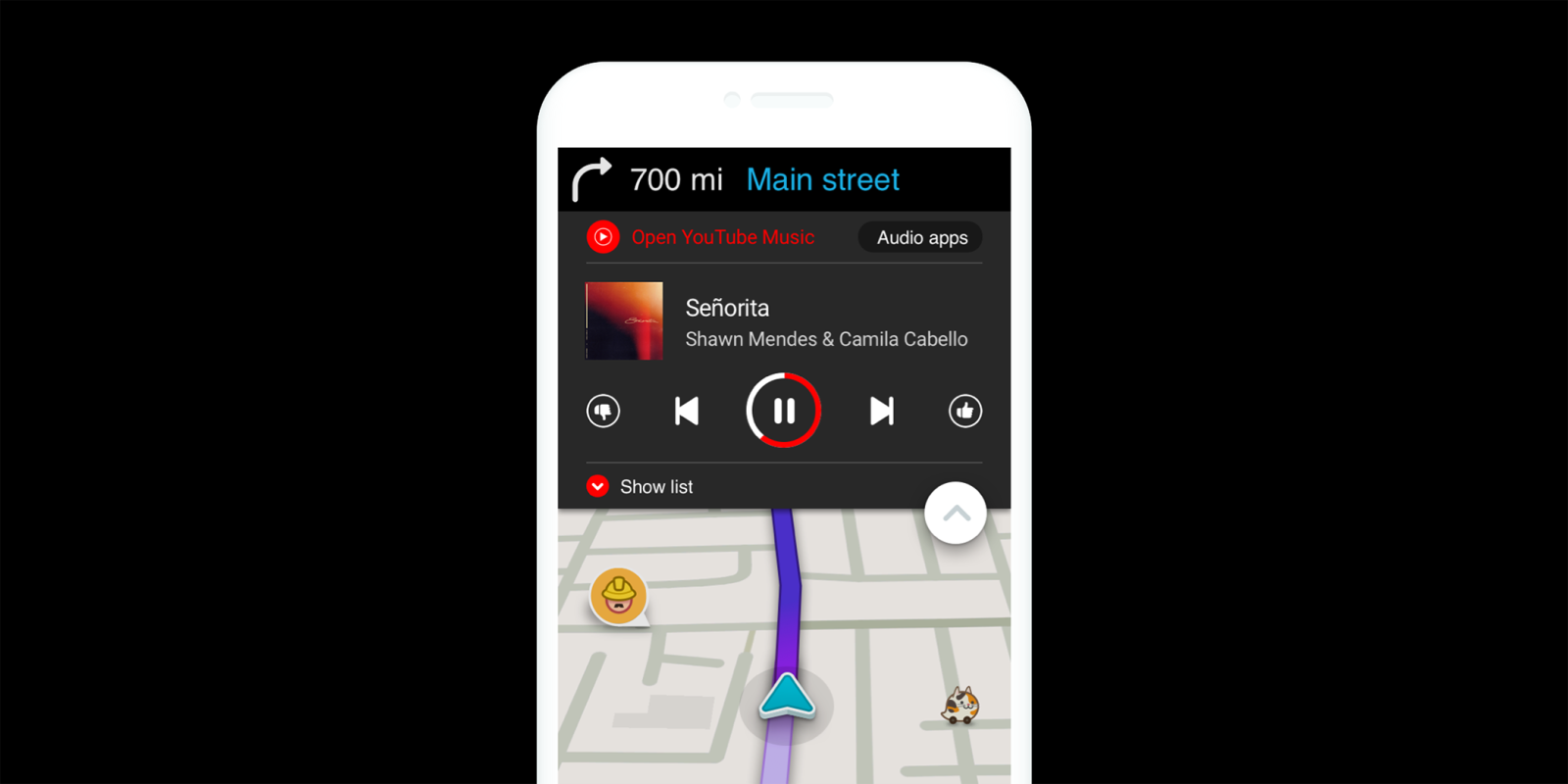 Waze gets YouTube Music integration, rolling out over 'coming weeks'