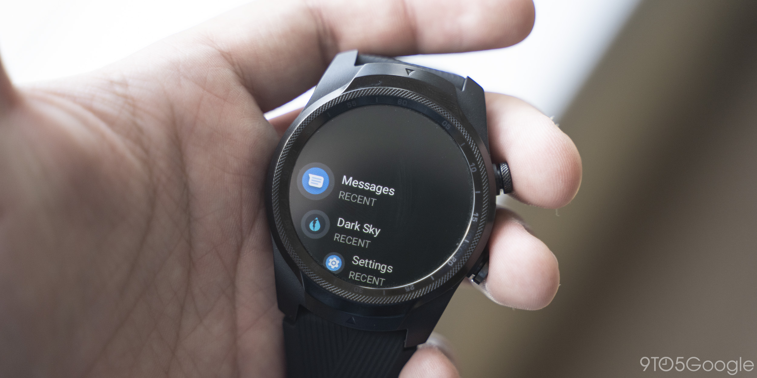 wear os messages app